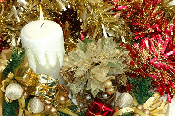 Holiday Decorating Ideas with Christmas Tree Candles_02