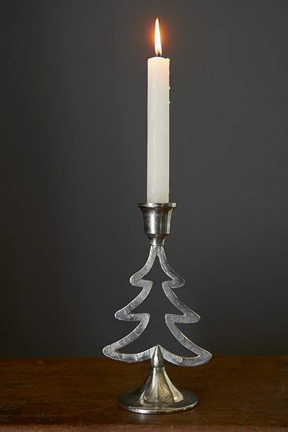 Holiday Decorating Ideas with Christmas Tree Candles_06