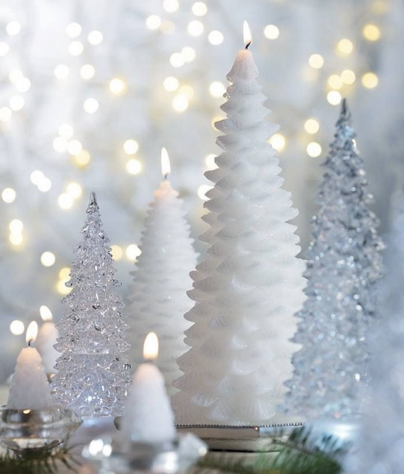 Holiday Decorating Ideas with Christmas Tree Candles_11
