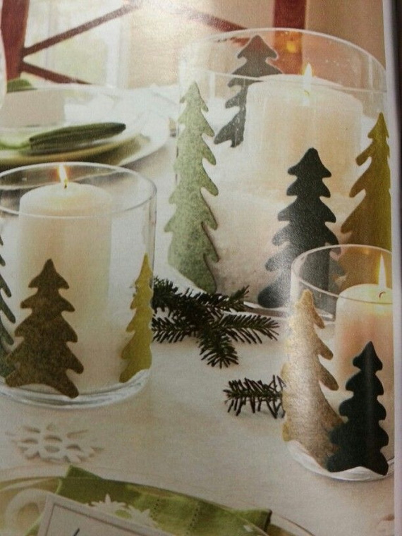 Holiday Decorating Ideas with Christmas Tree Candles_17