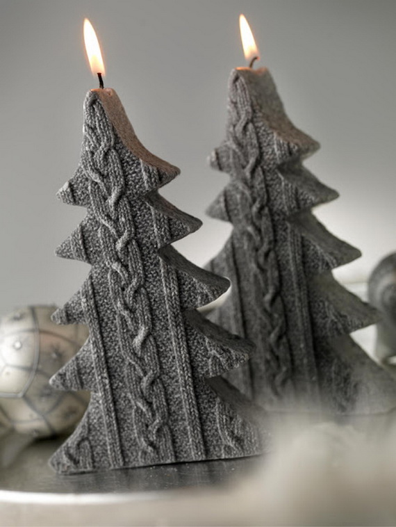 Holiday Decorating Ideas with Christmas Tree Candles_23