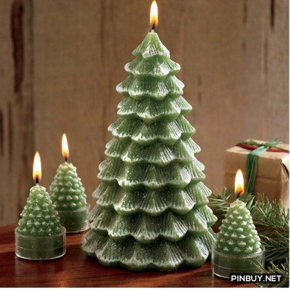 Holiday Decorating Ideas with Christmas Tree Candles_26
