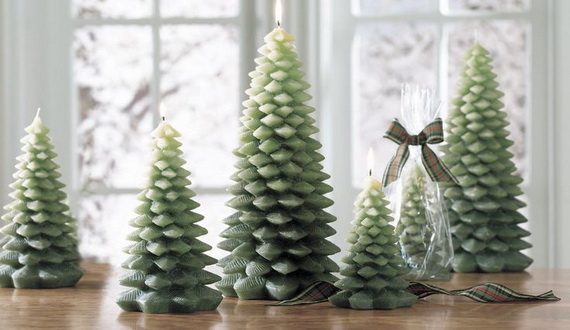 Holiday Decorating Ideas with Christmas Tree Candles_31