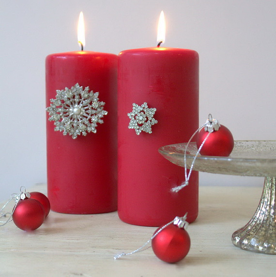 Holiday Decorating Ideas with Christmas Tree Candles_32
