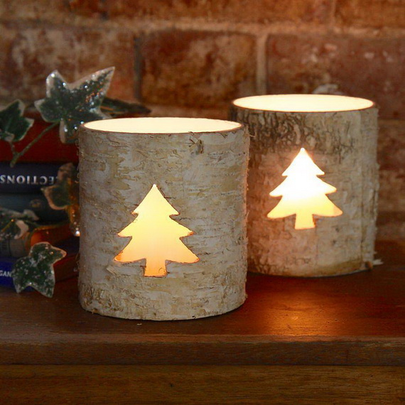 Holiday Decorating Ideas with Christmas Tree Candles_39