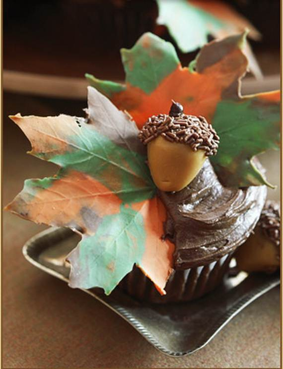 Ideas for Thanksgiving Holiday Cupcake Decorating (11)