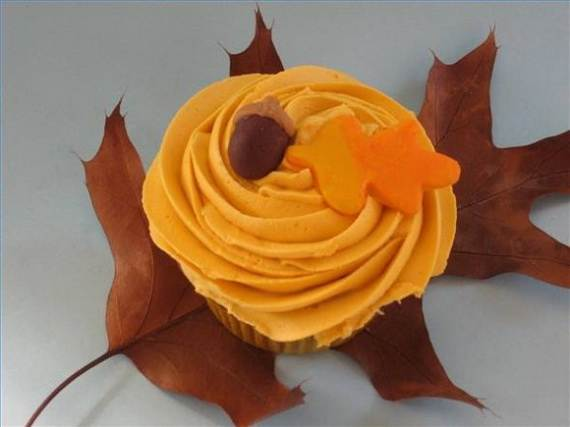 Ideas for Thanksgiving Holiday Cupcake Decorating (5)