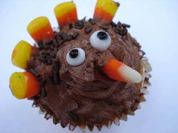 Ideas for Thanksgiving Holiday Cupcake Decorating (7)