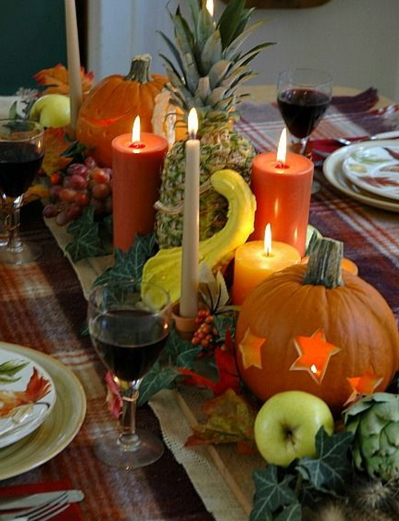 Thanksgiving Holiday Candle_33