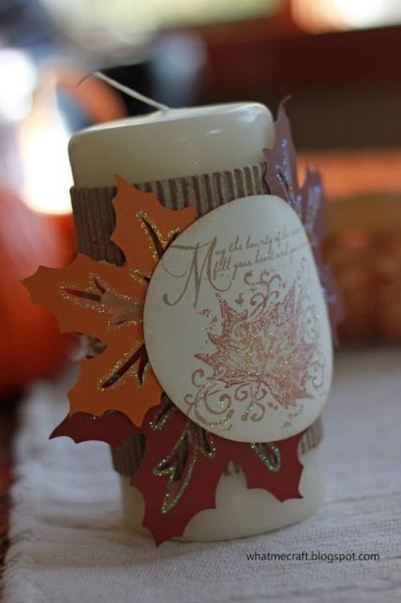 Thanksgiving Holiday Candle_46