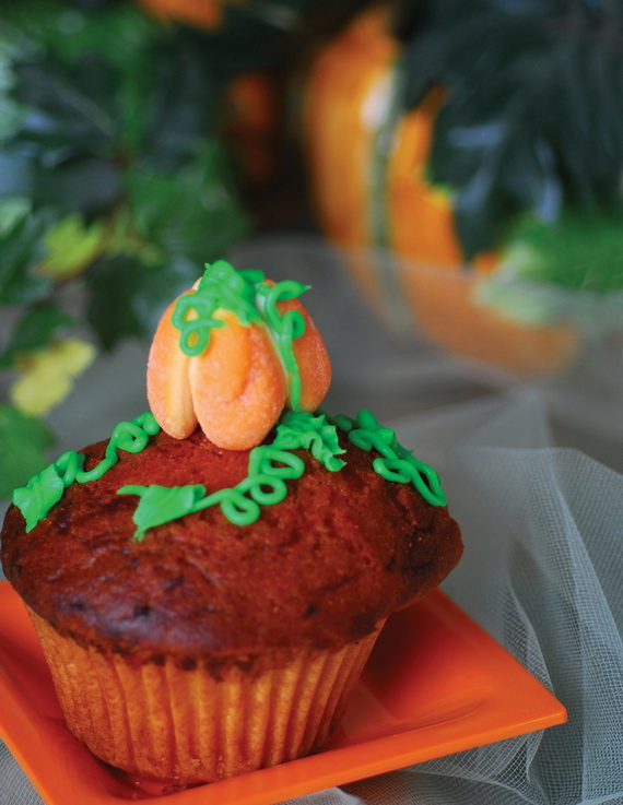 Thanksgiving Holiday Cupcakes Party Ideas_03