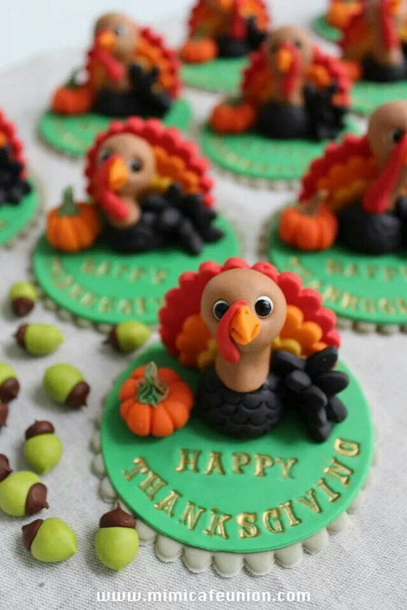 Thanksgiving Holiday Cupcakes Party Ideas_04
