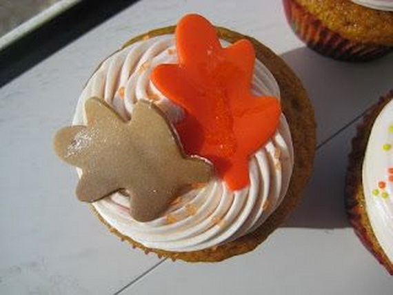 Thanksgiving Holiday Cupcakes Party Ideas_07