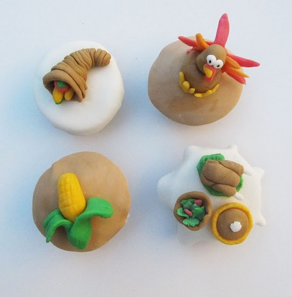 Thanksgiving Holiday Cupcakes Party Ideas_10