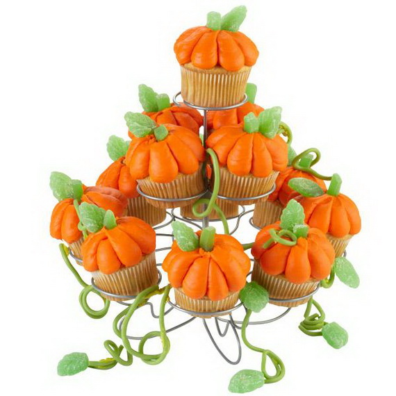Thanksgiving Holiday Cupcakes Party Ideas_16