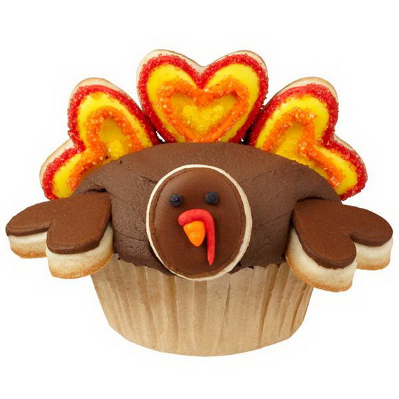 Thanksgiving Holiday Cupcakes Party Ideas_19