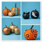 No-Carve Halloween Holiday  pumpkin decorating ideas,