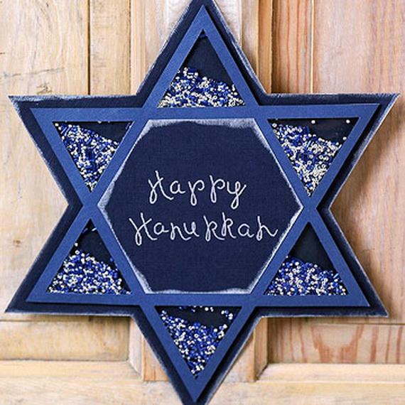 Celebrating hanukkah easy and stylish jewish holiday ideas for Decoration hanouka