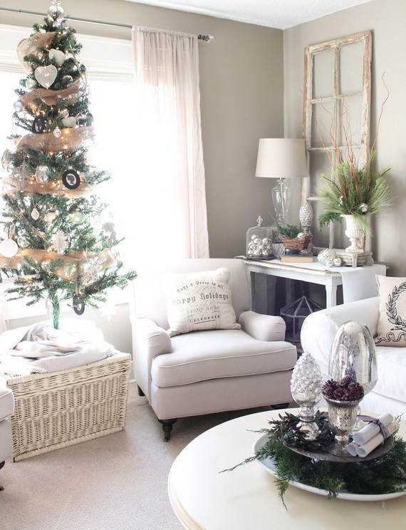 Beautiful Christmas Holiday Tree Decorating Inspirations (18)