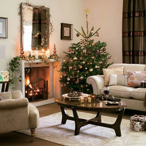 Beautiful Christmas Holiday Tree Decorating Inspirations (19)