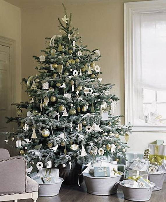 Beautiful Christmas Holiday Tree Decorating Inspirations (2)