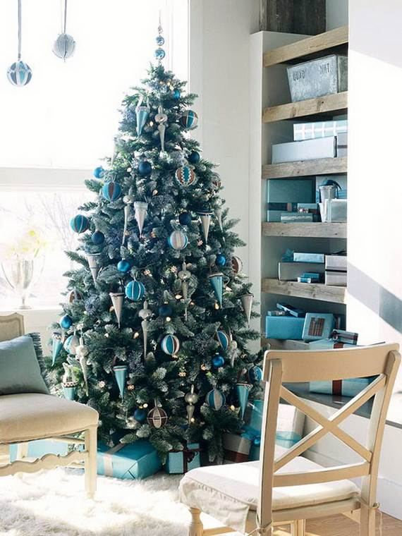 Beautiful Christmas Holiday Tree Decorating Inspirations (21)
