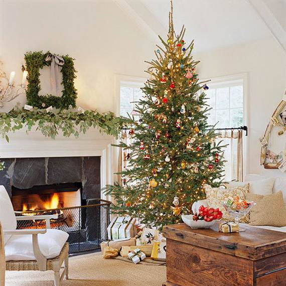 Beautiful Christmas Holiday Tree Decorating Inspirations (26)
