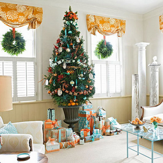 Beautiful Christmas Tree Decorating Ideas for A Holiday Tradition_05