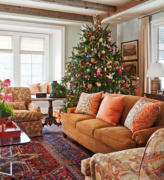 Beautiful Christmas Tree Decorating Ideas for A Holiday Tradition_18