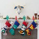 50 Elegant Christmas Stockings  Crafts