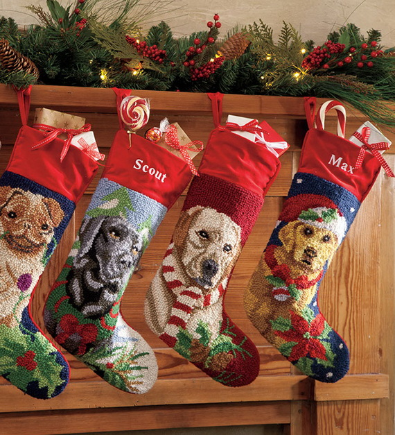 christmas stockings decorating ideas_07 - Christmas Stocking Design Ideas