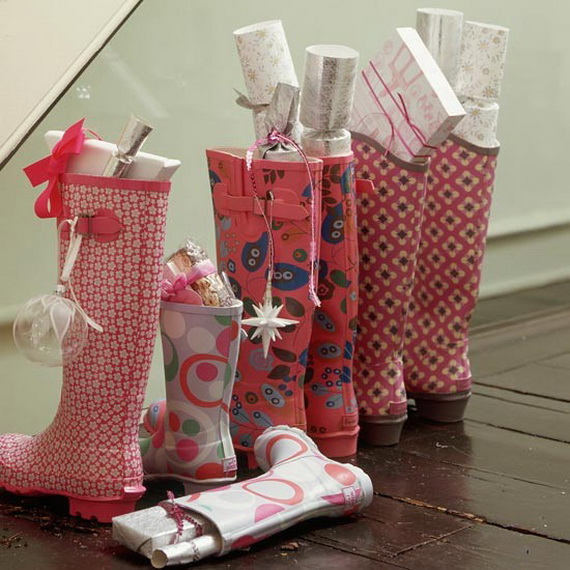 christmas stockings decorating ideas_08 - Decorating Christmas Stockings