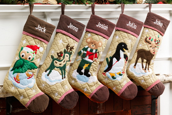 christmas stockings decorating ideas - family holiday/guide to