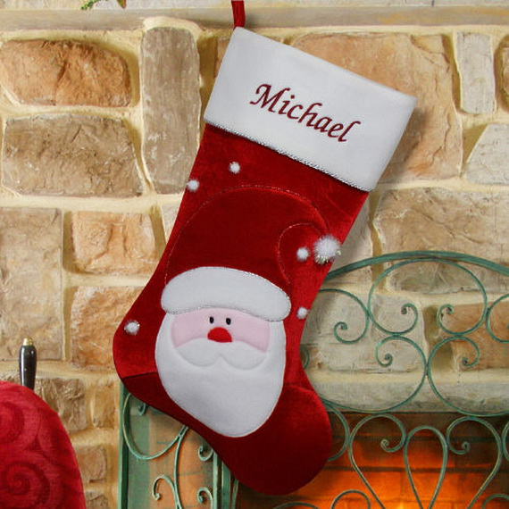christmas stockings decorating ideas_13 - Christmas Stocking Design Ideas