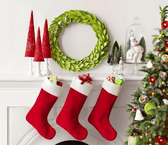 christmas stockings decorating ideas_14 - Christmas Stocking Decorating Ideas