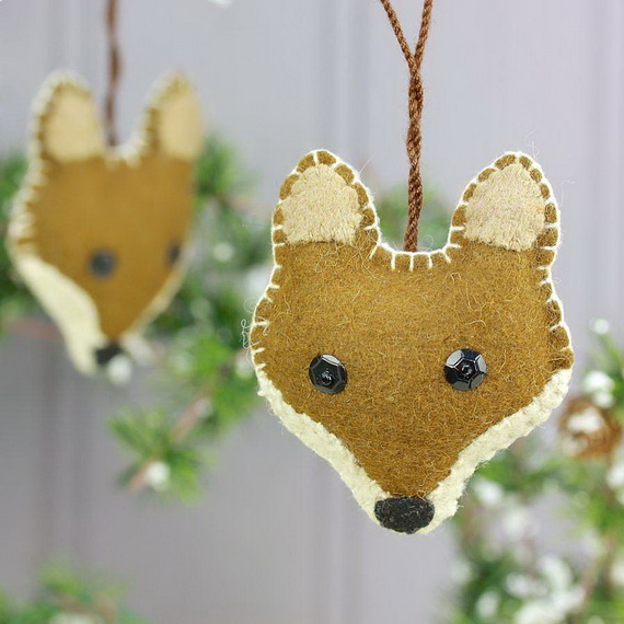Cute and quirky homemade christmas ornaments for holidays for Quirky ornaments