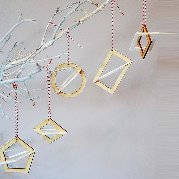 Cute and Quirky Homemade Christmas Ornaments for Holidays_13