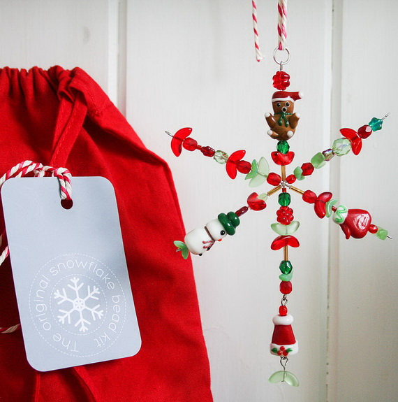 Cute and Quirky Homemade Christmas Ornaments for Holidays_14