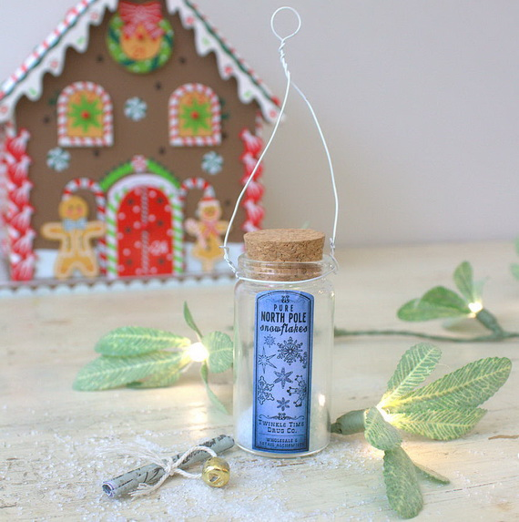 Cute and Quirky Homemade Christmas Ornaments for Holidays_17