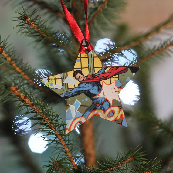 Cute and Quirky Homemade Christmas Ornaments for Holidays_23