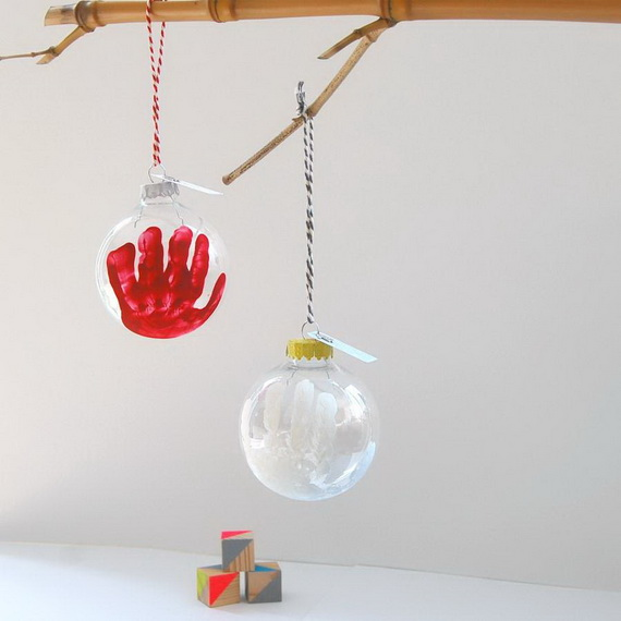 Cute and Quirky Homemade Christmas Ornaments for Holidays_24
