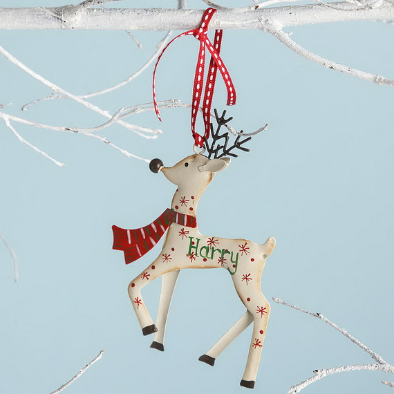 Cute and Quirky Homemade Christmas Ornaments for Holidays_27