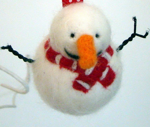 Cute and Quirky Homemade Christmas Ornaments for Holidays_36