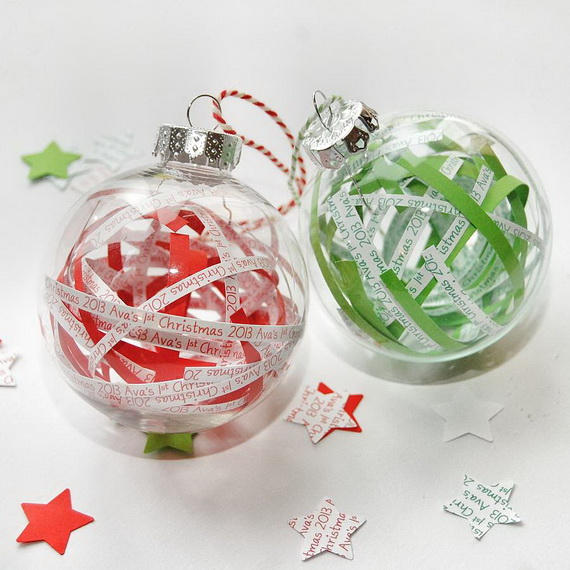 Cute and Quirky Homemade Christmas Ornaments for Holidays_37