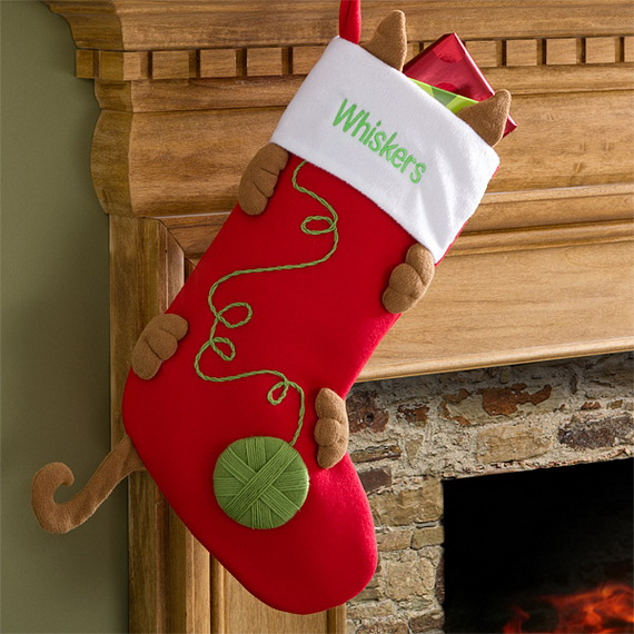 easy holiday christmas stocking crafts_07 - Christmas Stocking Design Ideas