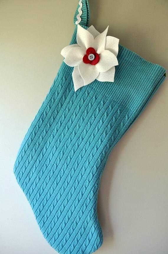 Elegant Christmas Stockings Holiday Crafts 14