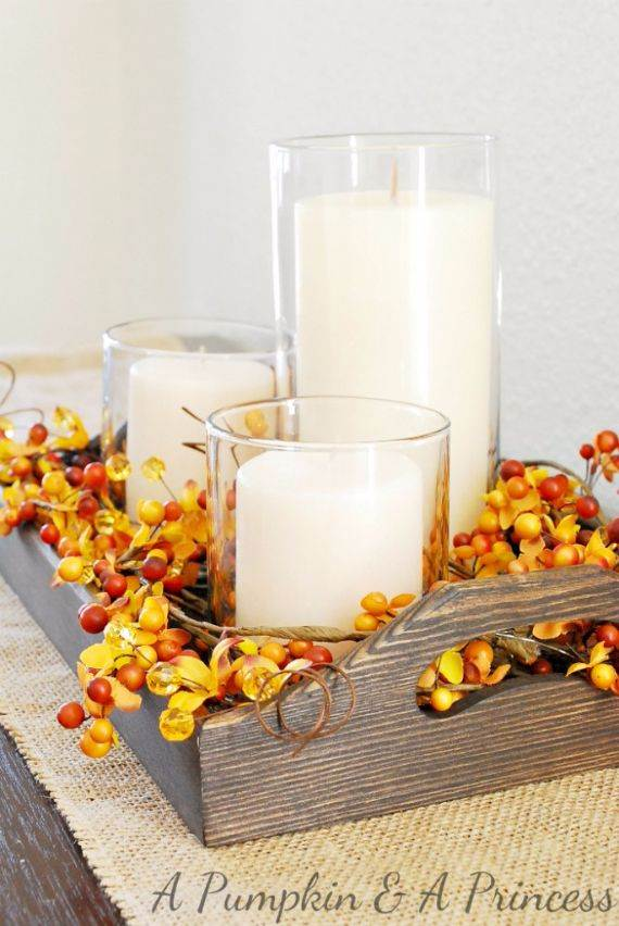 fall-candle-centerpiece