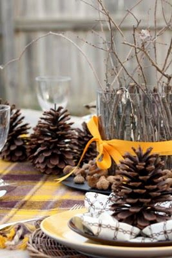 Fresh Pine Centerpiece For Holiday__05