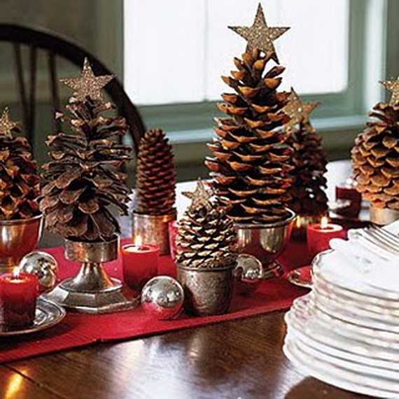 Fresh Pine Centerpiece For Holiday__19
