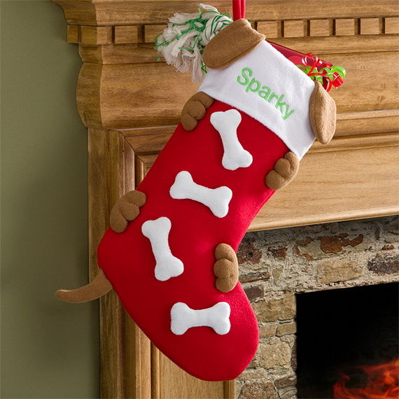 Hanging Christmas Stockings for Holidays_12